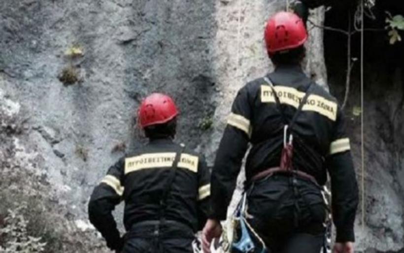 Διάσωση 45χρονου ποδηλάτη που έπεσε σε χαράδρα 15 μέτρων στα Χάνια