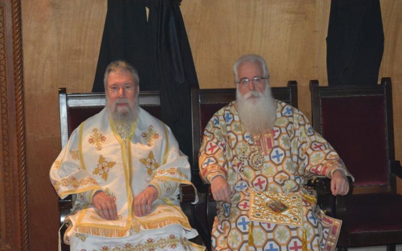 Εκκλησιαστική αποστολή στην Μεγαλόνησο Κύπρο