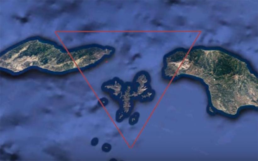 Συγκλονιστικό βίντεο: Δείτε το «Τρίγωνο των Βερμούδων» του Αιγαίου με 53 ναυάγια