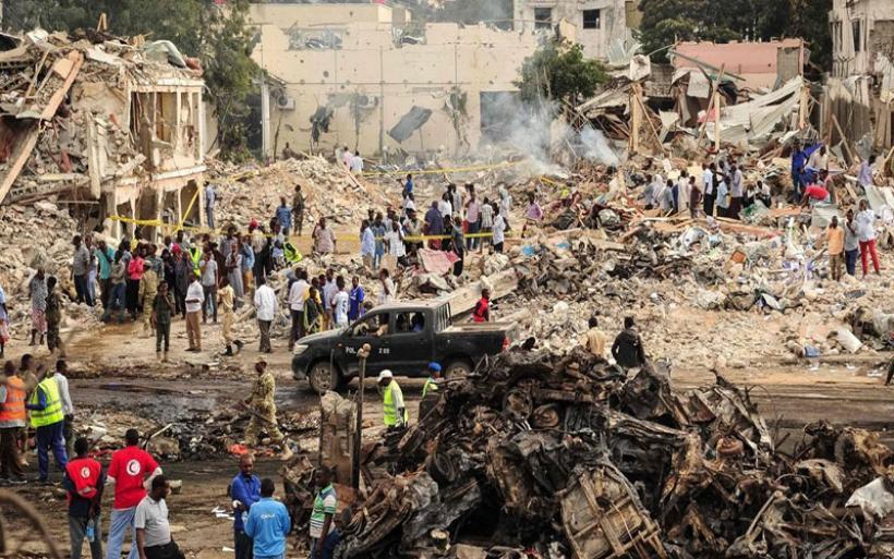 Σομαλία: Δραματική αύξηση των νεκρών από τη βομβιστική επίθεση