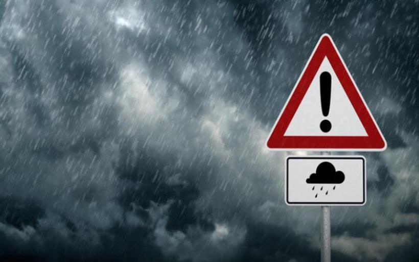 Περιφέρεια Θεσσαλίας:  Έκτακτο Δελτίο Επιδείνωσης του Καιρού - Bροχές, ισχυρές καταιγίδες, άνεμοι και χαλάζι