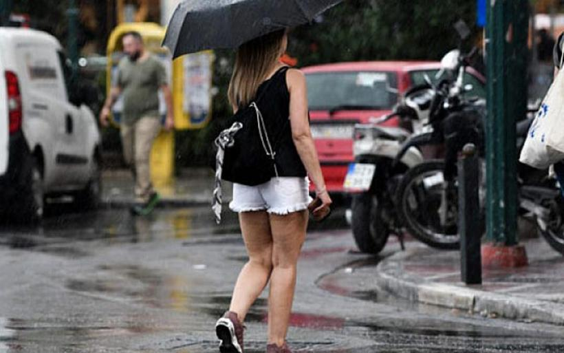 Έκτακτο δελτίο επιδείνωσης καιρού: Από τον καύσωνα στις βροχές και τις χαλαζοπτώσεις