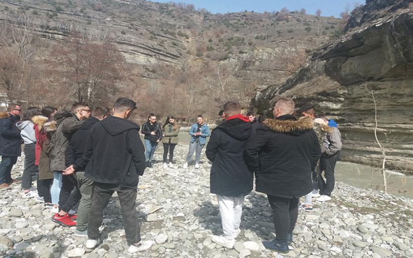 Εκπαιδευτική επίσκεψη της περιβαλλοντικής ομάδας του 1ου ΕΠΑ.Λ. Αλμυρού στη Καστοριά