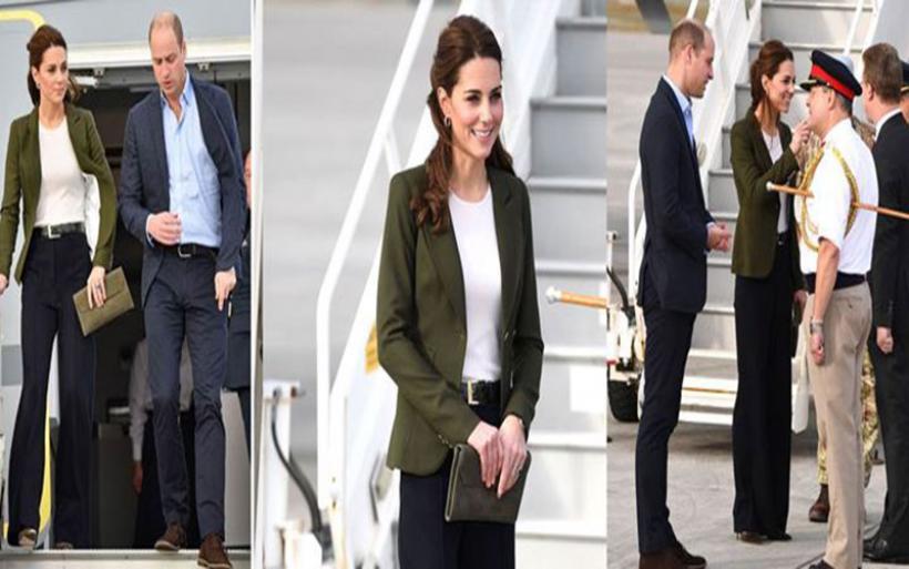 Η άφιξη του πρίγκιπα William και της Kate Middleton στην Κύπρο - Εντυπωσίασε η δούκισσα του Cambridge
