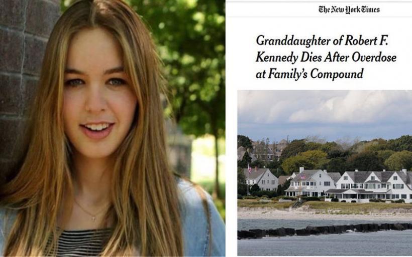 Η κατάρα των Κένεντι ξαναχτύπησε: Εγγονή του Ρόμπερτ Φ. Κένεντι πέθανε από υπερβολική δόση ναρκωτικών