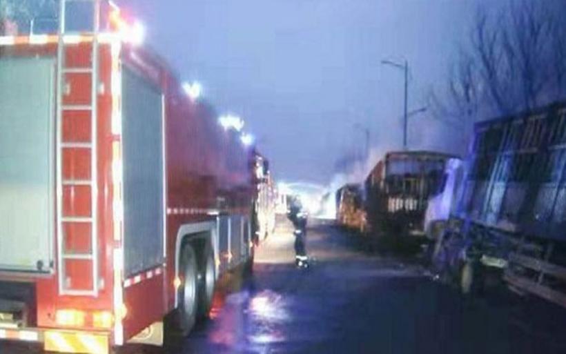 Κίνα: Έκρηξη σε χημικό εργοστάσιο με 22 νεκρούς