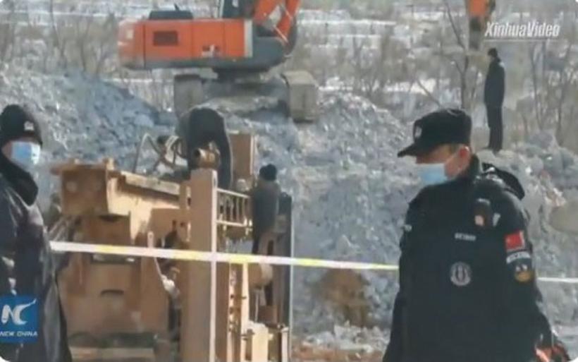 Κίνα - Έκρηξη σε χρυσωρυχείο υπό κατασκευή: Παγιδεύτηκαν 22 εργαζόμενοι
