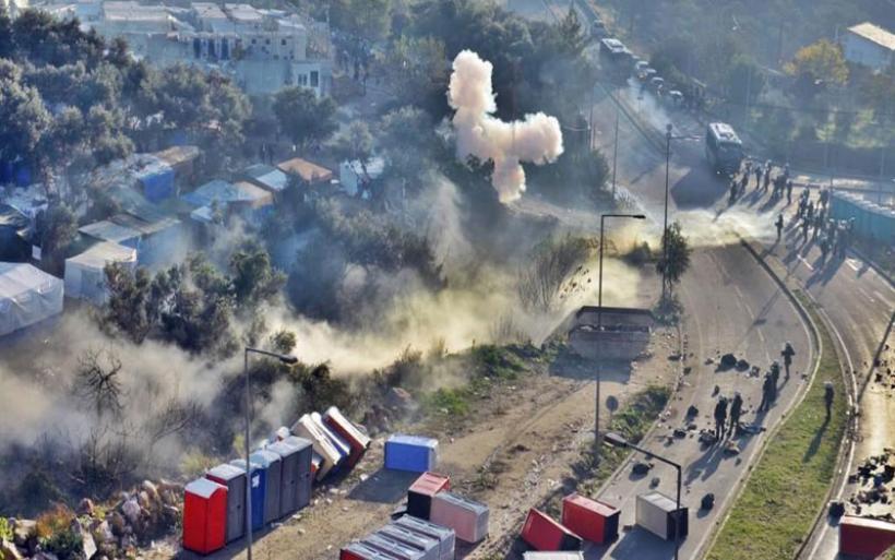 Ένταση στο ΚΥΤ της Σάμου – Επεισόδια μεταξύ προσφύγων και αστυνομικών