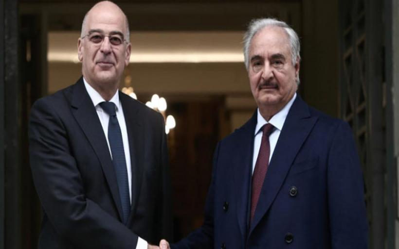 Τώρα η συνάντηση Δένδια-Χαφτάρ: Διπλωματική αντεπίθεση της Αθήνας, το παρασκήνιο της επίσκεψης