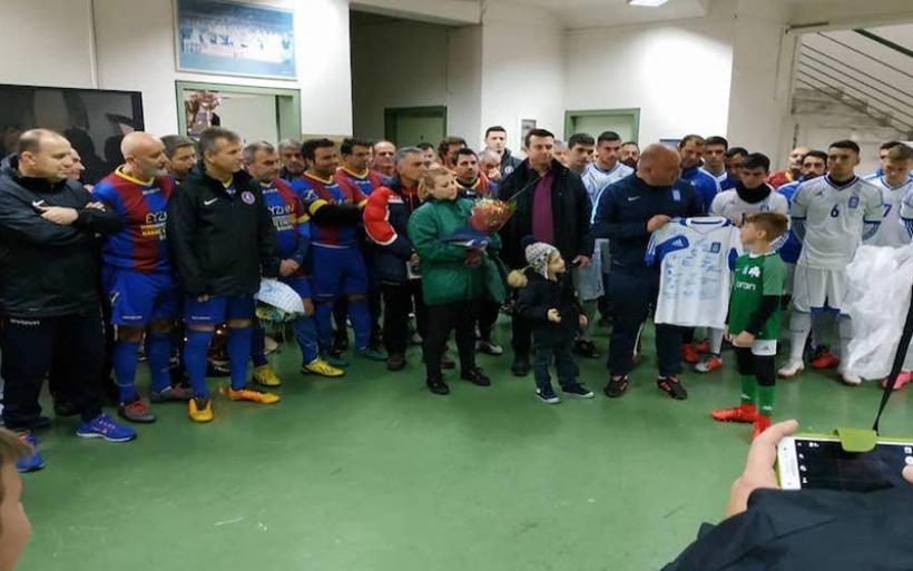 Ποδοσφαιρικός αγώνας στο Βασδέκειο στη μνήμη του Αρχικελευστή Ι. Αλουτζανίδη