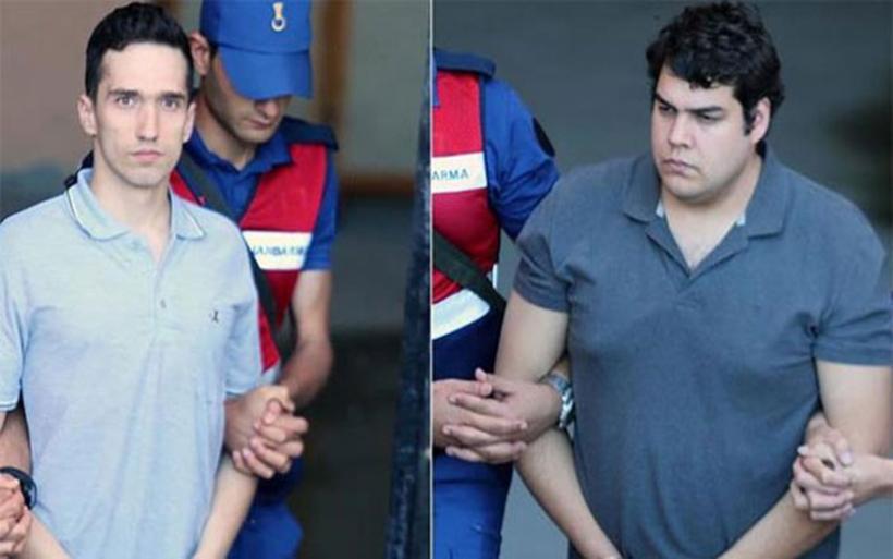 Απορρίφθηκε και το νέο αίτημα αποφυλάκισης των δυο Ελλήνων στρατιωτικών