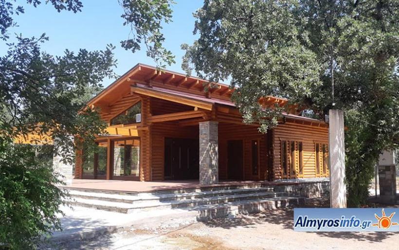 Σε δημοπρασία το Κέντρο Υποδοχής και Ενημέρωσης Επισκεπτών στο Δάσος Κουρί