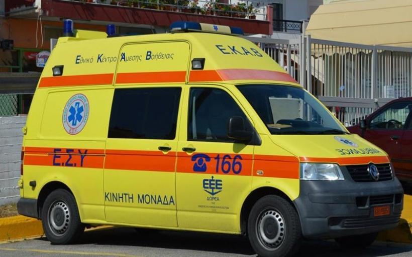Βόλος: Δυο άτομα στο Νοσοκομείο Βόλου μετά από τροχαίο