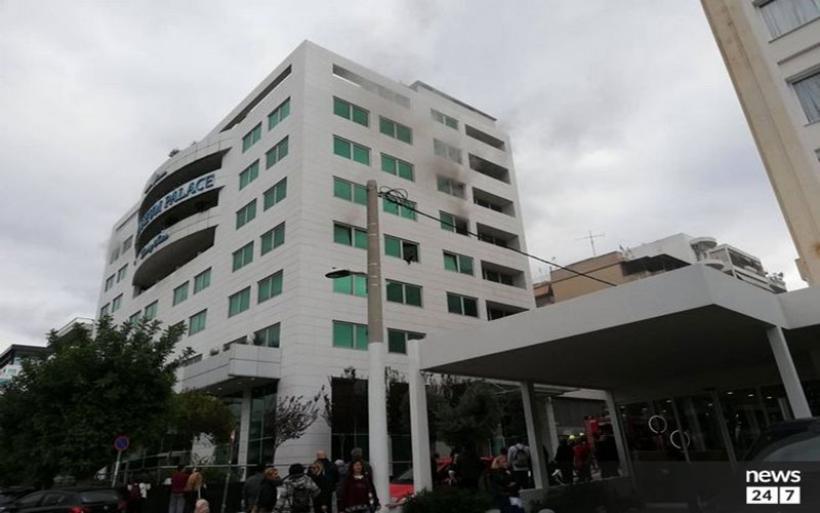 Φωτιά σε ξενοδοχείο στη Λεωφόρο Συγγρού - Αναφορές για εγκλωβισμένους