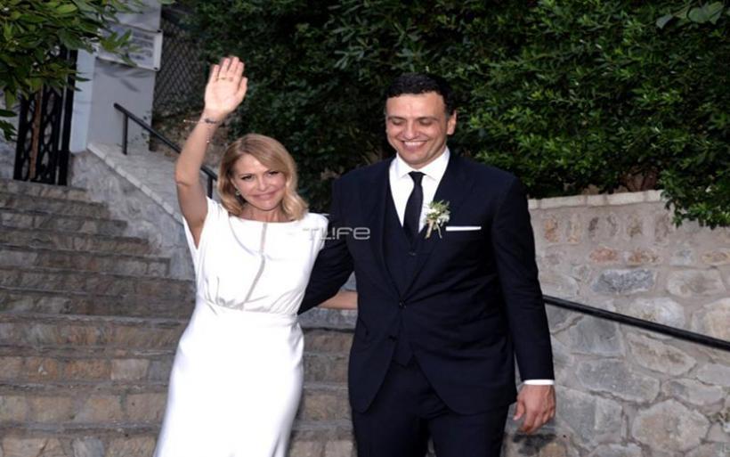 Τζένη Μπαλατσινού - Βασίλης Κικίλιας:φωτογραφίες από τον παραμυθένιο γάμο τους!