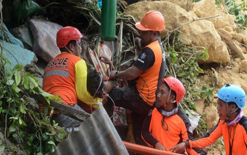 Φιλιππίνες: Τουλάχιστον 22 οι νεκροί από την κατολίσθηση - Πολλοί εγκλωβισμένοι