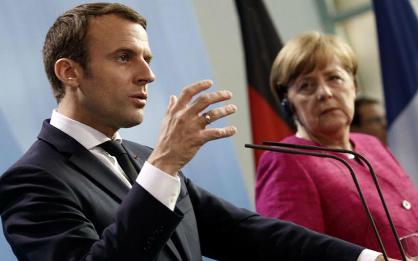 Αντίθετος στην ιδέα των ευρωομολόγων δηλώνει ο Μακρόν