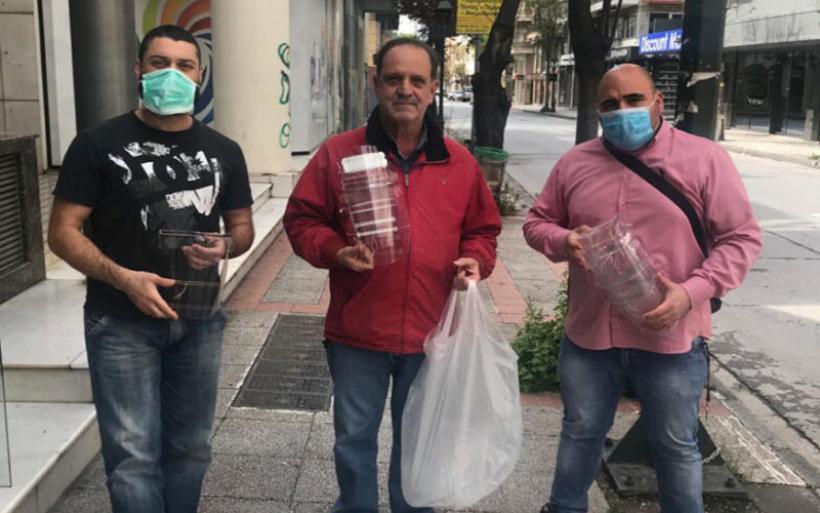 Μάσκες έδωσε το Πανεπιστήμιο Θεσσαλίας στο Κέντρο Υγείας Αλμυρού