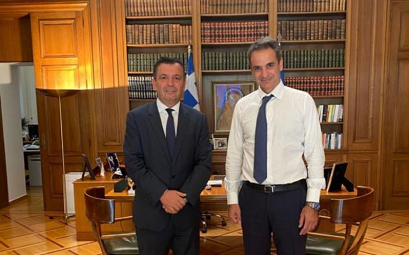 Με τον πρωθυπουργό συναντήθηκε ο Χρ. Μπουκώρος -Για σημαντικά θέματα της Μαγνησίας