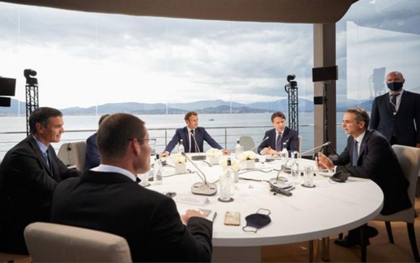 MED7 : Αυστηρό μήνυμα προς Τουρκία και πρόταση για επιπλέον κυρώσεις – Τι αναφέρει το κείμενο συμπερασμάτων