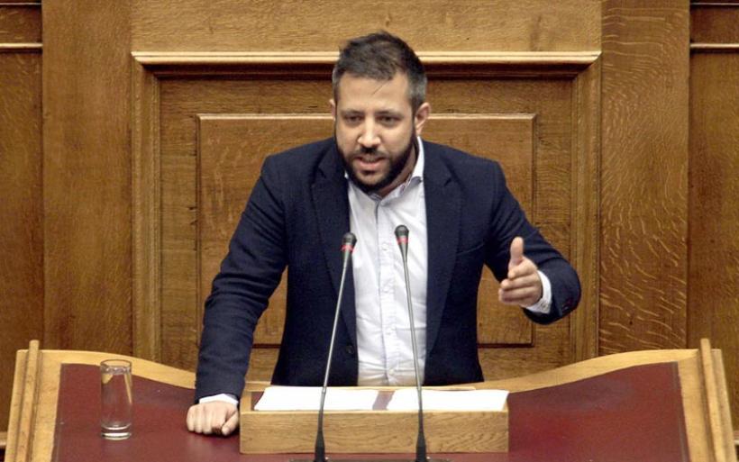 Παρέμβαση Αλ. Μεϊκόπουλου για την αποζημίωση των ελαιοπαραγωγών Πτελεού και Αχιλλείου
