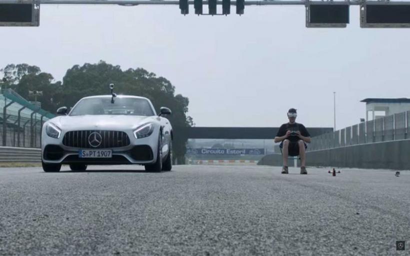 Ένας αγώνας ανάμεσα σε μία Mercedes-AMG και ένα drone (+vid)