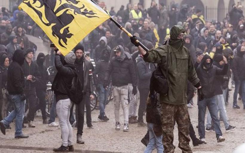Βέλγιο: Επεισόδια σε διαδήλωση της ακροδεξιάς κατά του Συμφώνου Μετανάστευσης