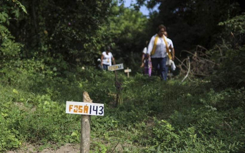 Φρίκη στο Μεξικό: Τουλάχιστον 215 πτώματα βρέθηκαν σε ομαδικούς τάφους