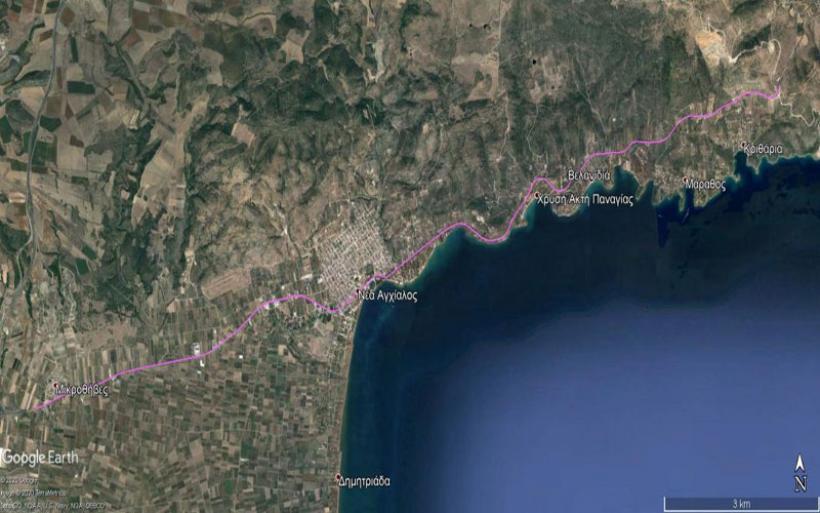 Στο ΕΣΠΑ Θεσσαλίας η μελέτη του δρόμου Μικροθήβες – Μπουρμπουλήθρα