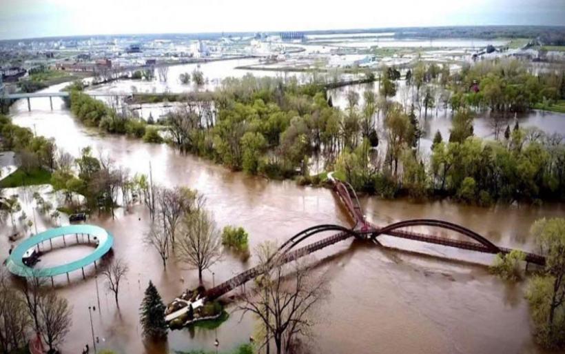 ΗΠΑ: Τεράστιες καταστροφές από την κακοκαιρία στο Μίσιγκαν- Εκκενώνονται περιοχές