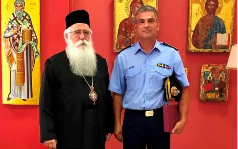 Στον Μητροπολίτη ο νέος Διοικητής των Πυροσβεστικών Υπηρεσιών Μαγνησίας