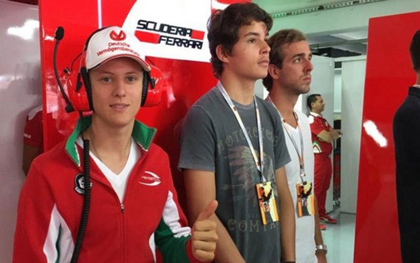 Η πόρτα της Ferrari για τον γιο του Schumacher είναι πάντα ανοικτή
