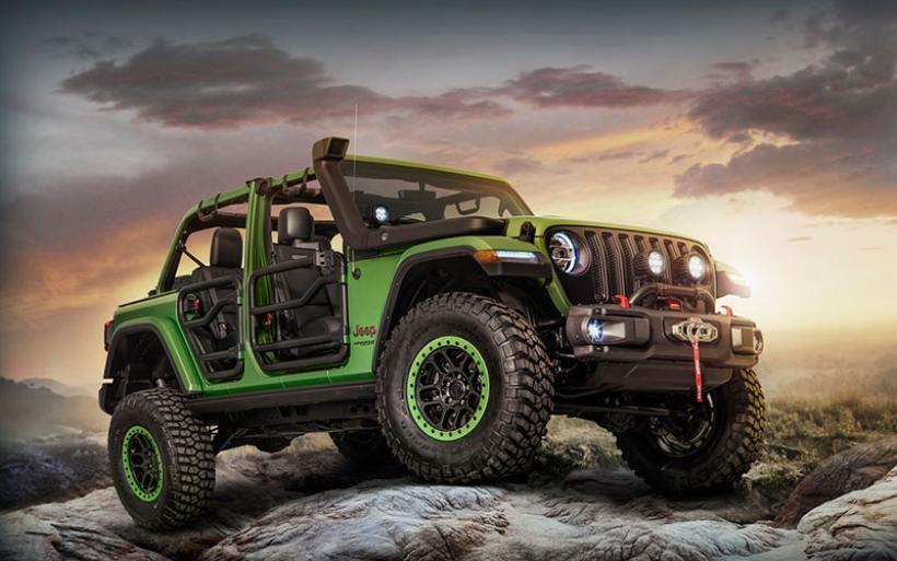 Jeep Wrangler: Με τις ευλογίες της Mopar