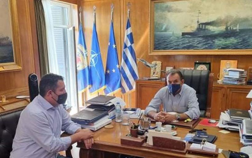 Χρ. Μπουκώρος: Οριστικές αποφάσεις για το Ναύσταθμο στη Μαγνησία - Προκρίνεται η θαλάσσια περιοχή του Αλμυρού