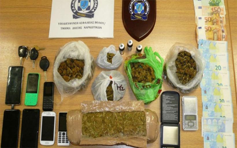 Εγκληματική οργάνωση διακίνησης ναρκωτικών δρούσε στη Μαγνησία