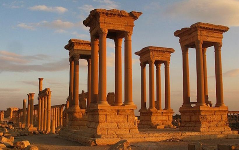 Το Ισλαμικό Χαλιφάτο κατέστρεψε το Τετράπυλον στην Παλμύρα