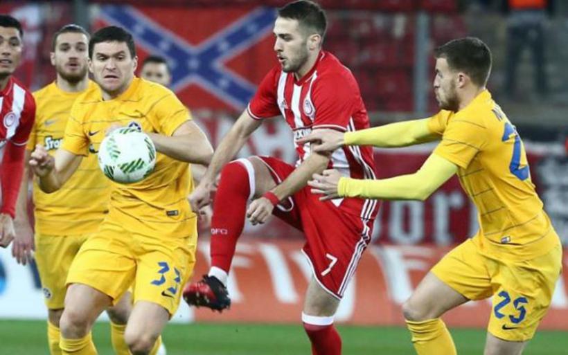 Λύτρωση με Μάριν - Με ανατροπή ο Ολυμπιακός 2-1 τον Αστέρα Τρίπολης