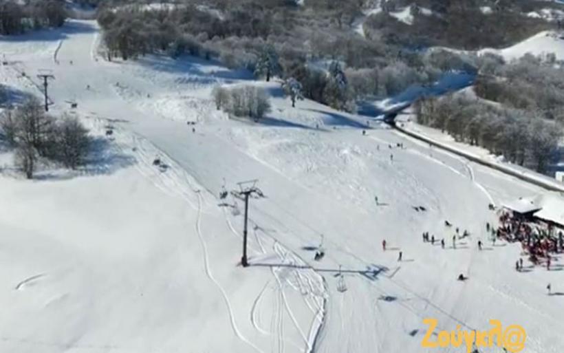 Mοναδικό ταξίδι στο χιονοδρομικό κέντρο Βασιλίτσας