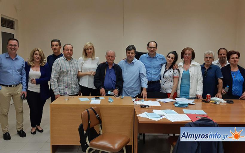 Συγκροτήθηκε σε σώμα το νέο Διοικητικό Συμβούλιο της ΔΗΜΤΟ ΝΔ Αλμυρού