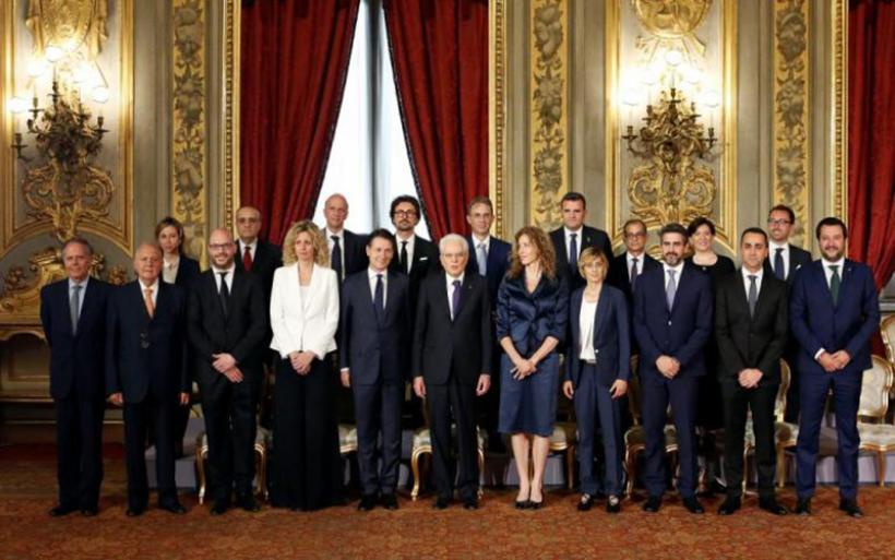 Ιταλία: Ορκίστηκε η νέα κυβέρνηση Πέντε Αστέρων – Λέγκας