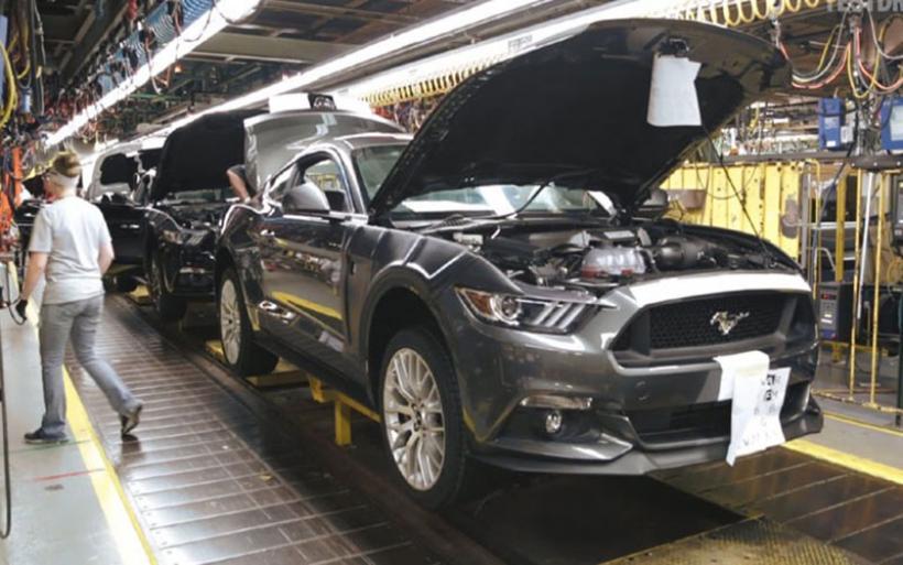 Διακόπτεται προσωρινά η παραγωγή της Mustang