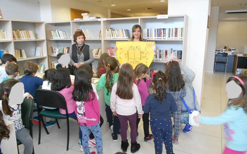 Ευχαριστήριο 5ου Νηπιαγωγείου Αλμυρού προς τη βιβλιοθηκονόμο της Δημοτικής βιβλιοθήκης