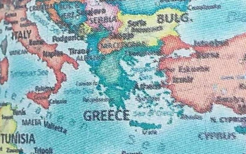 Φιάσκο: Η ΕΛ.ΑΣ. ανακάλεσε ημερολόγια που τύπωσε με «Μακεδονία» και «Βόρεια Κύπρο»!