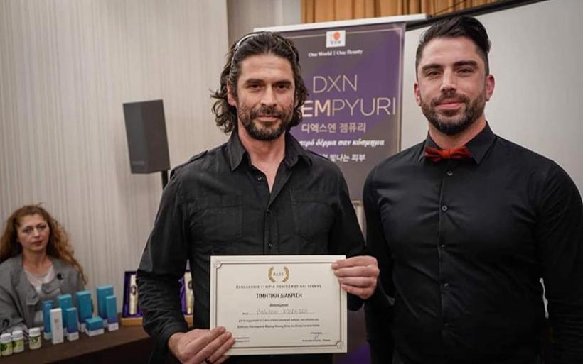 Απονομή Βραβείου-Τιμητικής Διάκρισης στον Αλμυριώτη καλλιτέχνη Β. Ντεβετζή