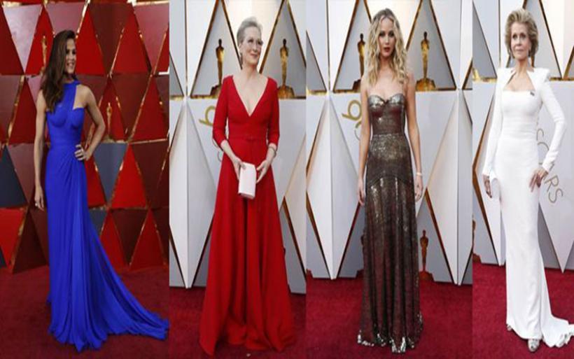 Στο λαμπερό κόκκινο χαλί των Oscars 2018 - Τι φόρεσαν οι stars