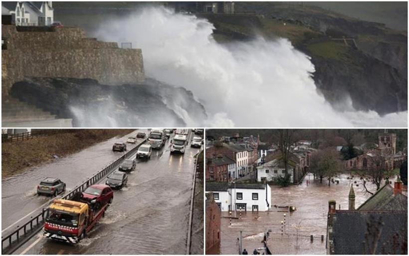 Καταιγίδα τώρα: Η «Κιάρα» σαρώνει τη Βόρεια Ευρώπη