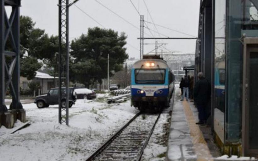 ΤΡΑΙΝΟΣΕ: Aναστολή δρομολογίων στον άξονα Αθήνα - Θεσσαλονίκη - Αθήνα