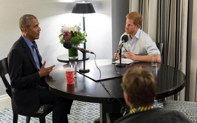Οταν ο Χάρι πήρε συνέντευξη από τον Ομπάμα