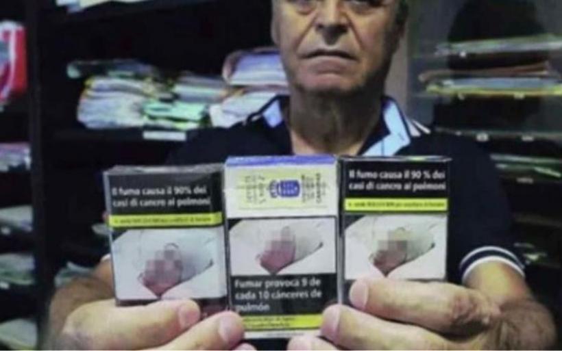 Σοκ για Ιταλό που αναγνώρισε τη νεκρή σύζυγό του στο αντικαπνιστικό μήνυμα πακέτου τσιγάρων!