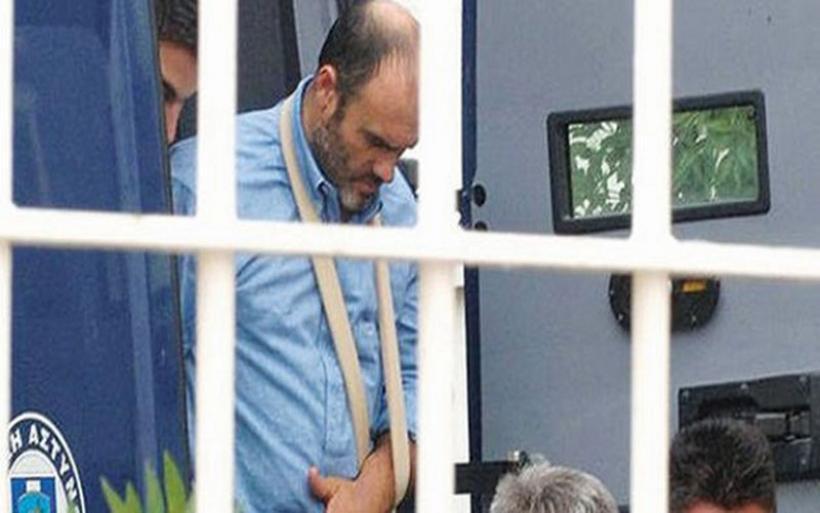 Αρνήθηκε τη νοσηλεία και επέστρεψε στις φυλακές Αγίου Στεφάνου ο Παλαιοκώστας
